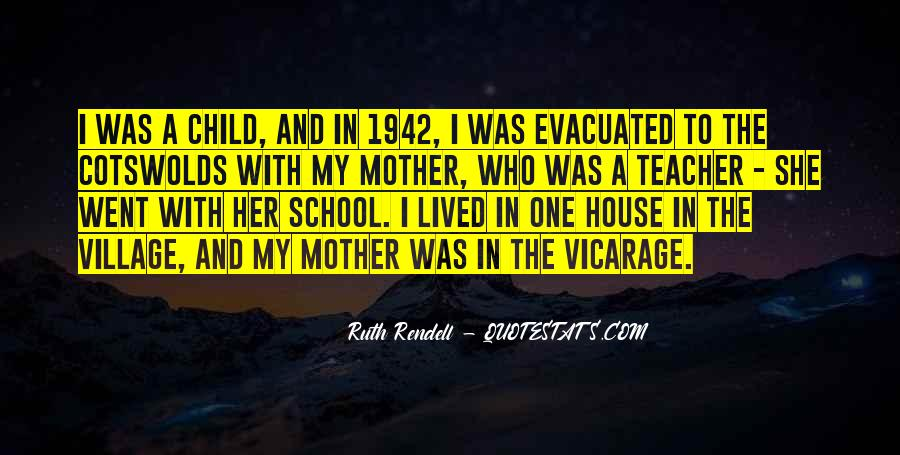 Quotes About Mother And Her Child #236387