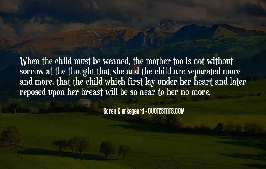 Quotes About Mother And Her Child #265408