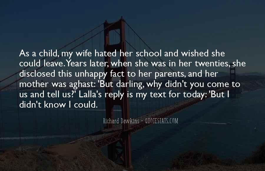 Quotes About Mother And Her Child #470746