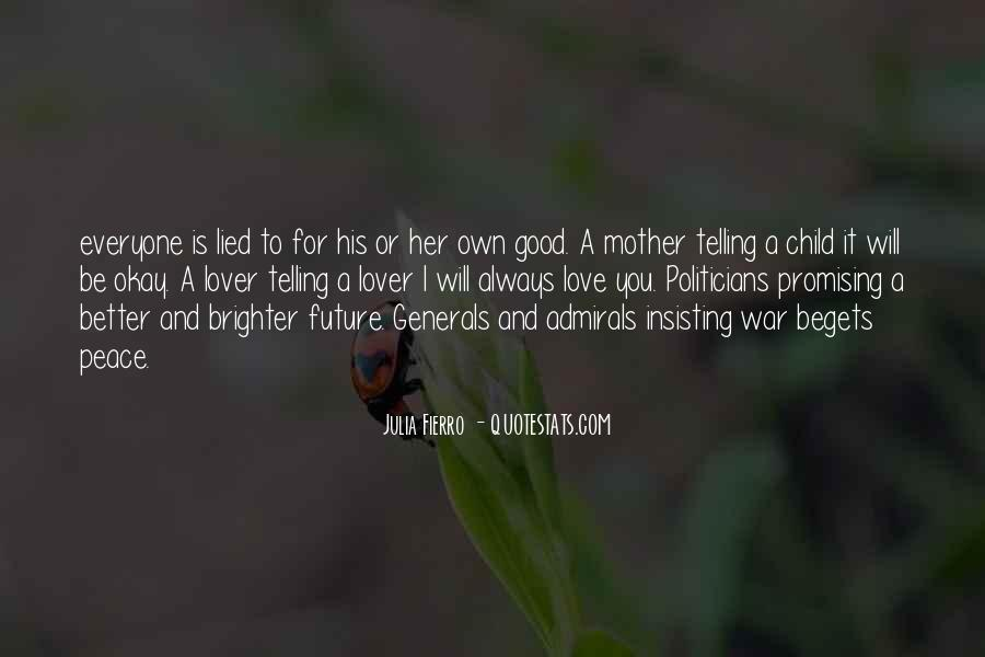 Quotes About Mother And Her Child #538636