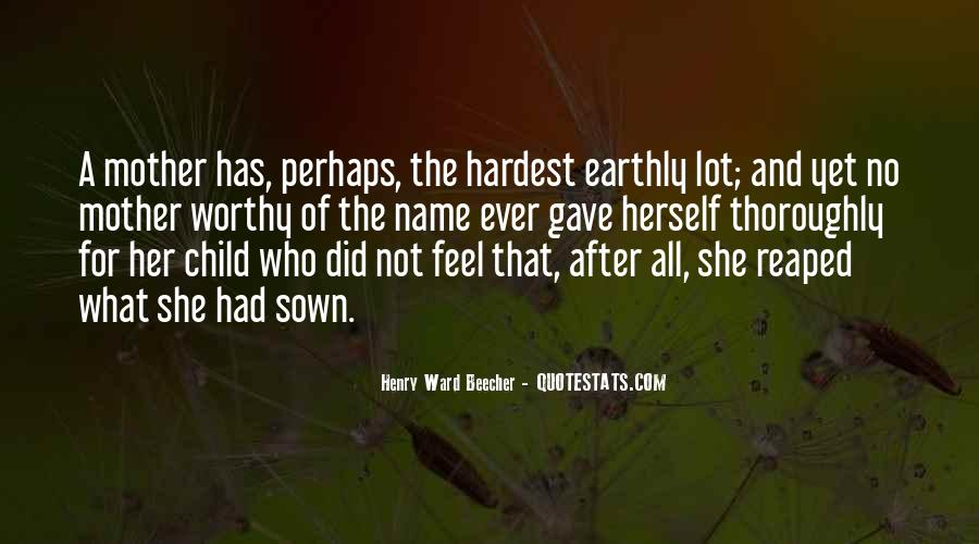 Quotes About Mother And Her Child #624614