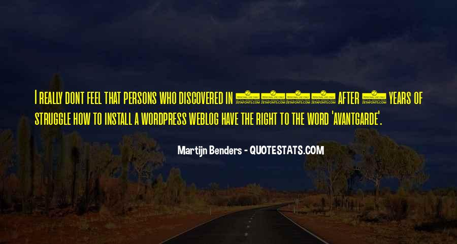 Quotes About Benders #1409538