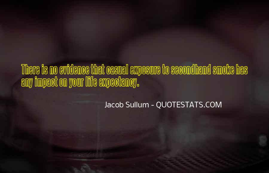 Quotes About Secondhand Smoke #1225697