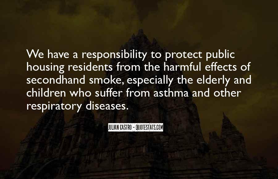 Quotes About Secondhand Smoke #1716890
