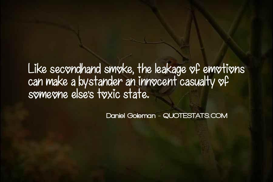 Quotes About Secondhand Smoke #1772100