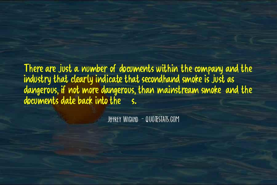 Quotes About Secondhand Smoke #1788211