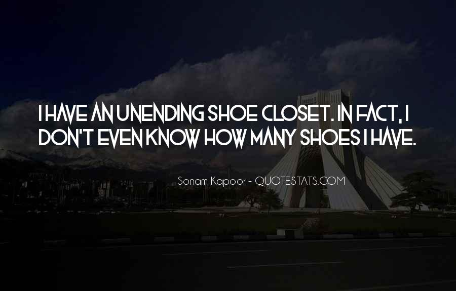 Quotes About Shoes #12185
