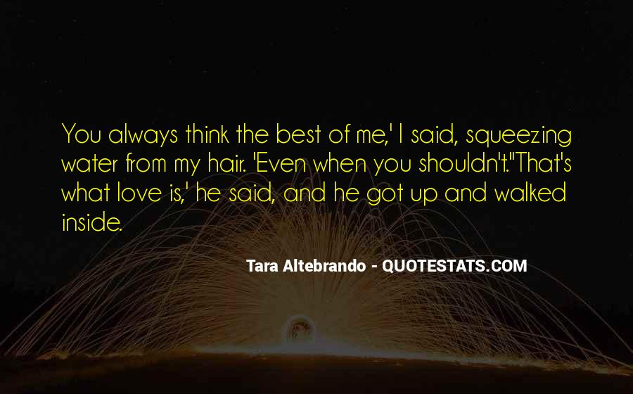 Quotes About I Shouldn't Love You #1050307