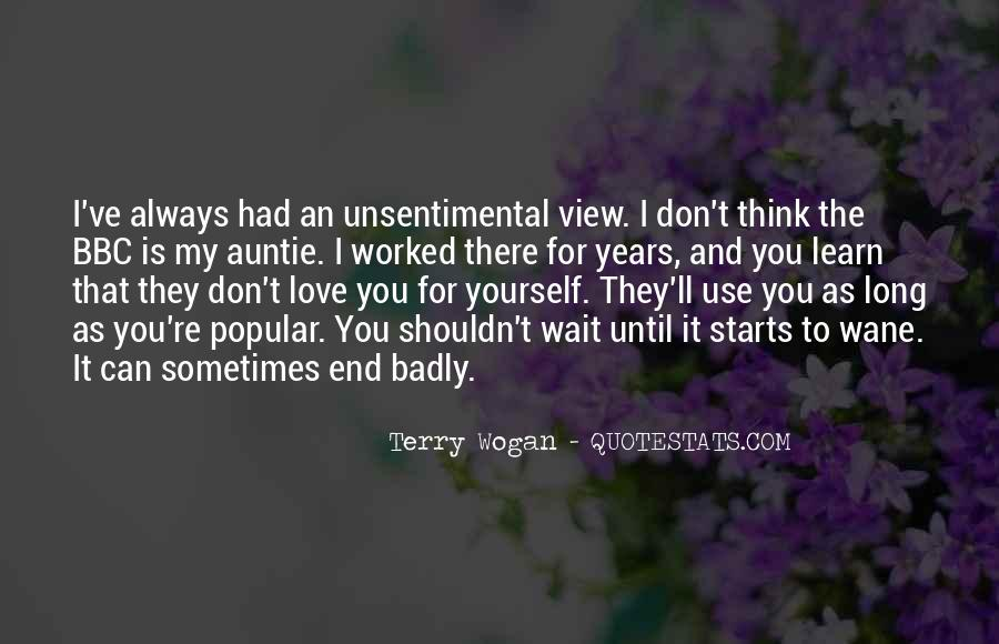 Quotes About I Shouldn't Love You #1633362