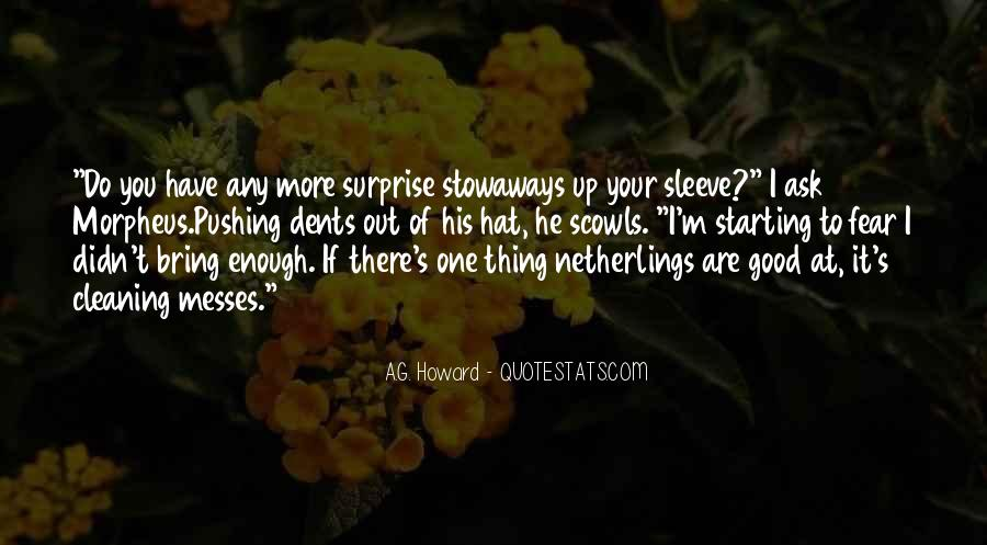 Quotes About Stowaways #481617