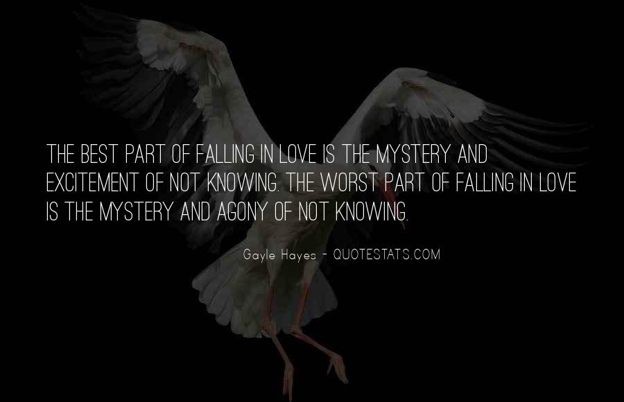 Quotes About Mystery And Suspense #1235569