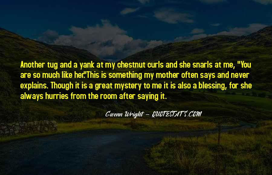 Quotes About Mystery And Suspense #147002
