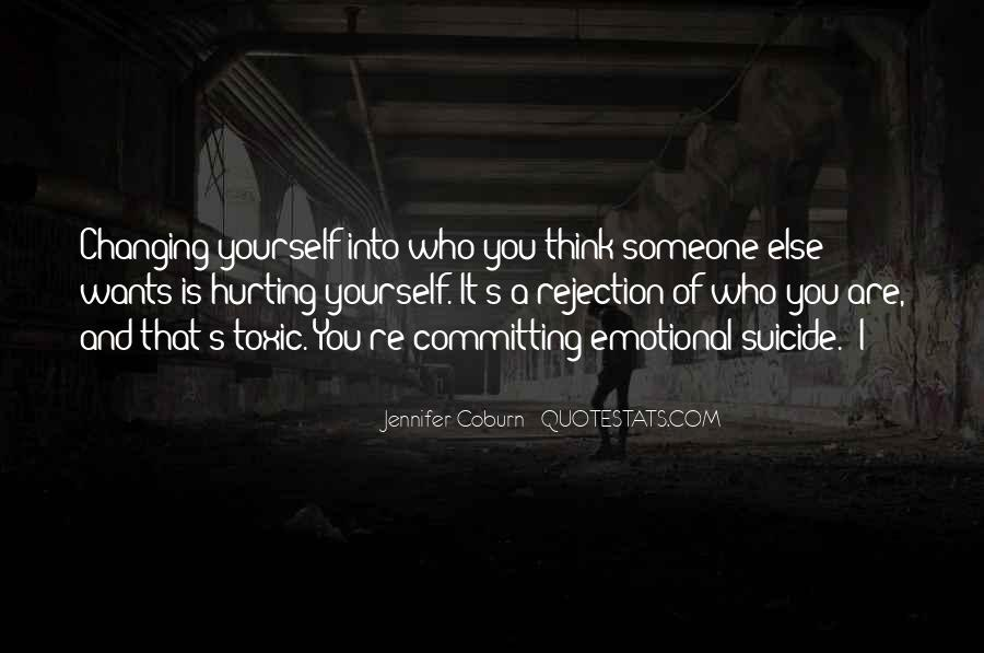 Quotes About Changing Yourself For Someone Else #93223