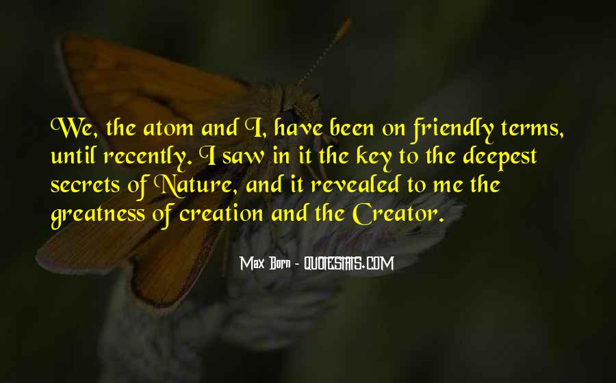 Quotes About The Greatness Of Nature #1187037