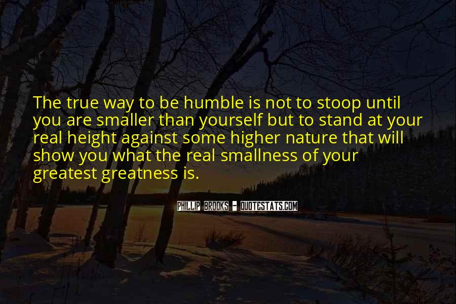 Quotes About The Greatness Of Nature #1405009