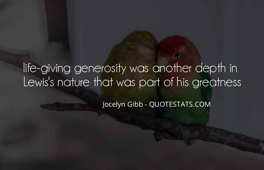 Quotes About The Greatness Of Nature #1407384