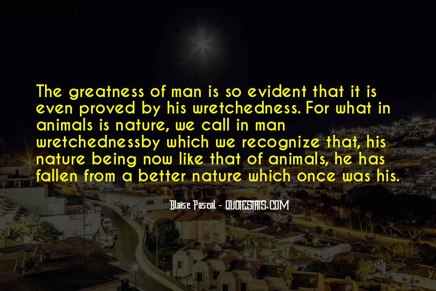 Quotes About The Greatness Of Nature #224611