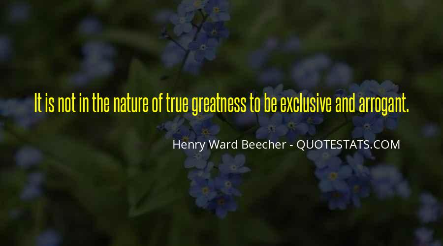 Quotes About The Greatness Of Nature #389725
