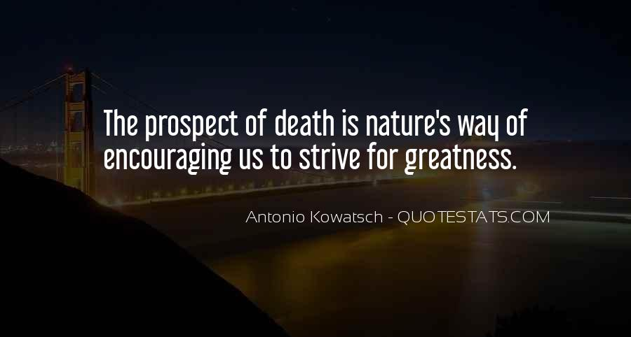 Quotes About The Greatness Of Nature #692614