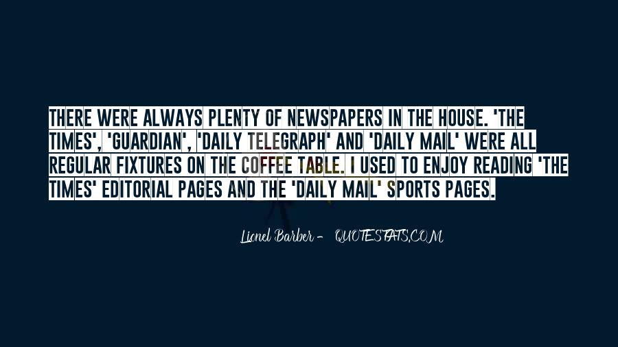 Quotes About The Daily Mail #1674645