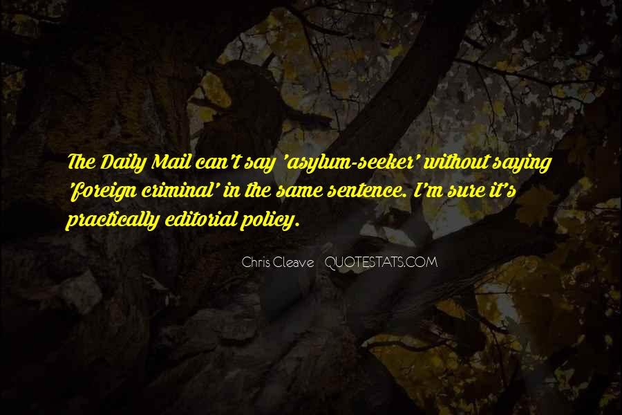 Quotes About The Daily Mail #1745788