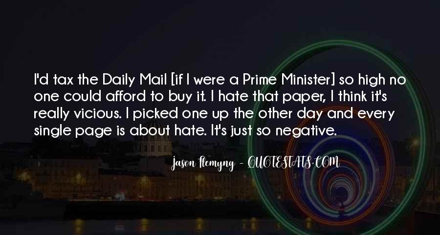 Quotes About The Daily Mail #440849
