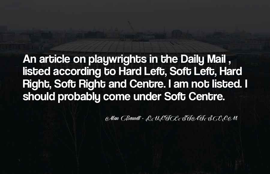 Quotes About The Daily Mail #459901