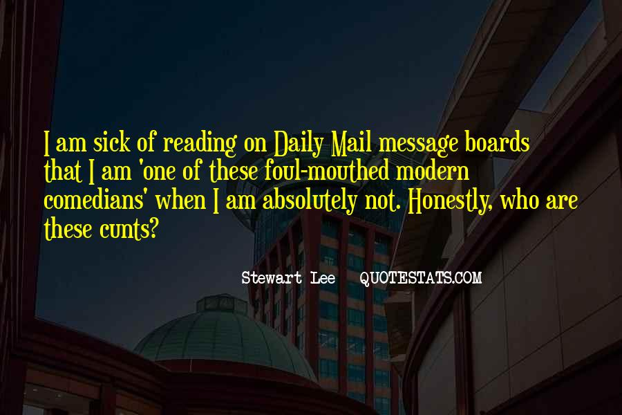 Quotes About The Daily Mail #611680
