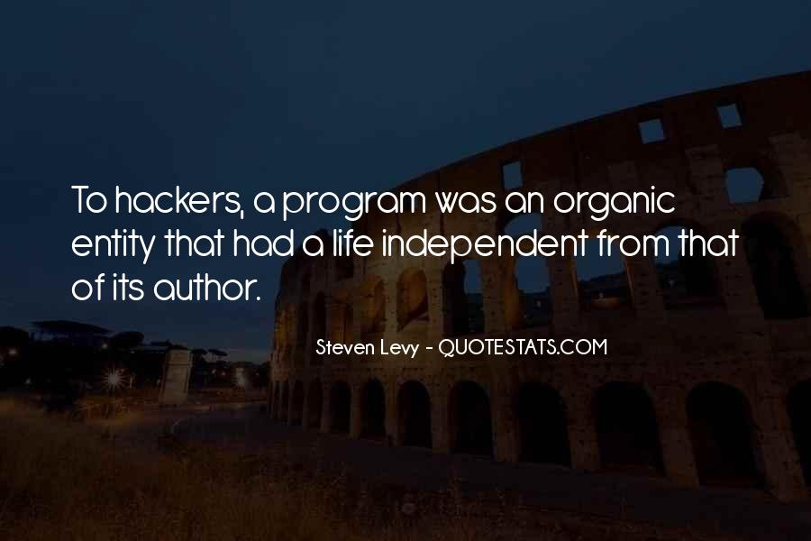 Quotes About Independent Life #1346203
