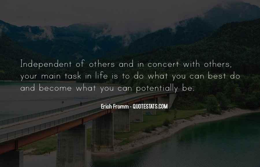 Quotes About Independent Life #270407