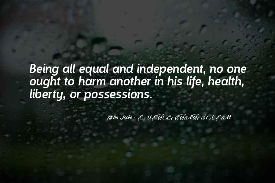 Quotes About Independent Life #837637