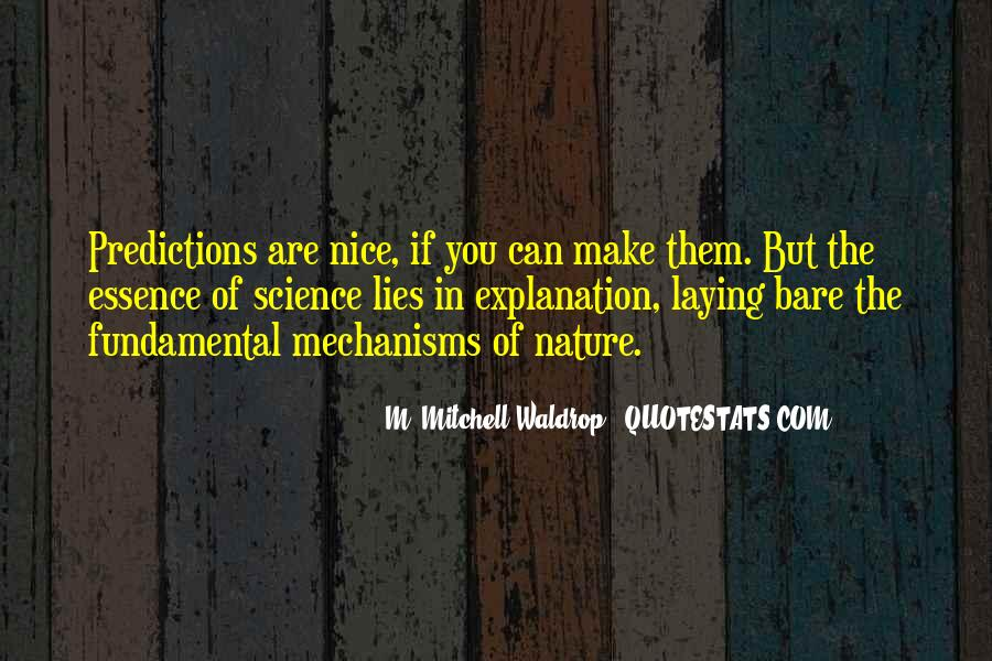 Quotes About Nature With Explanation #1681650