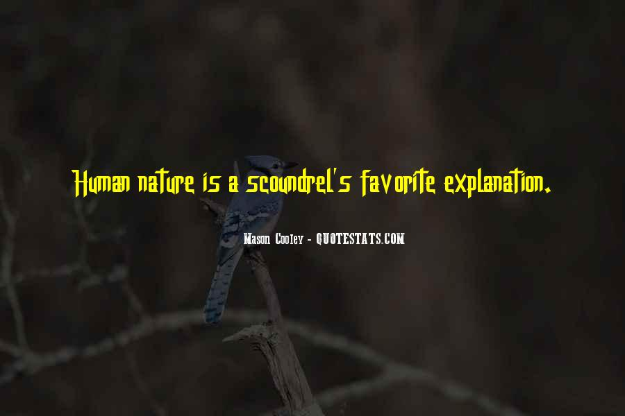 Quotes About Nature With Explanation #1826766