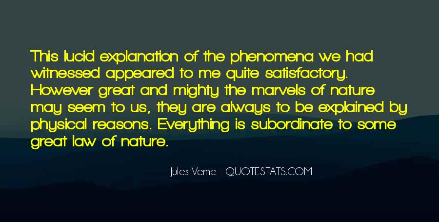 Quotes About Nature With Explanation #288424