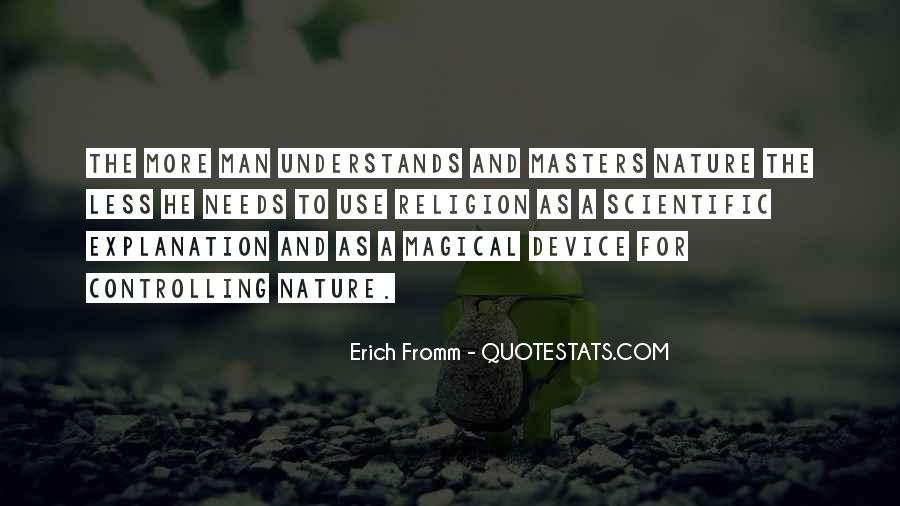 Quotes About Nature With Explanation #306487