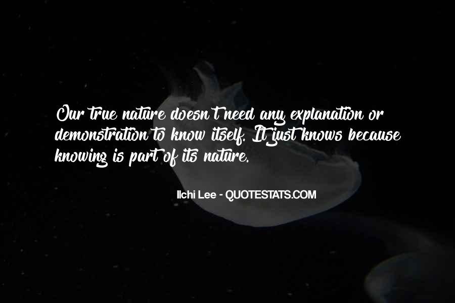 Quotes About Nature With Explanation #753981