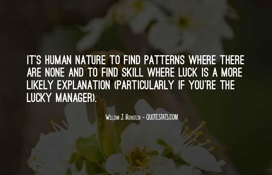 Quotes About Nature With Explanation #816165