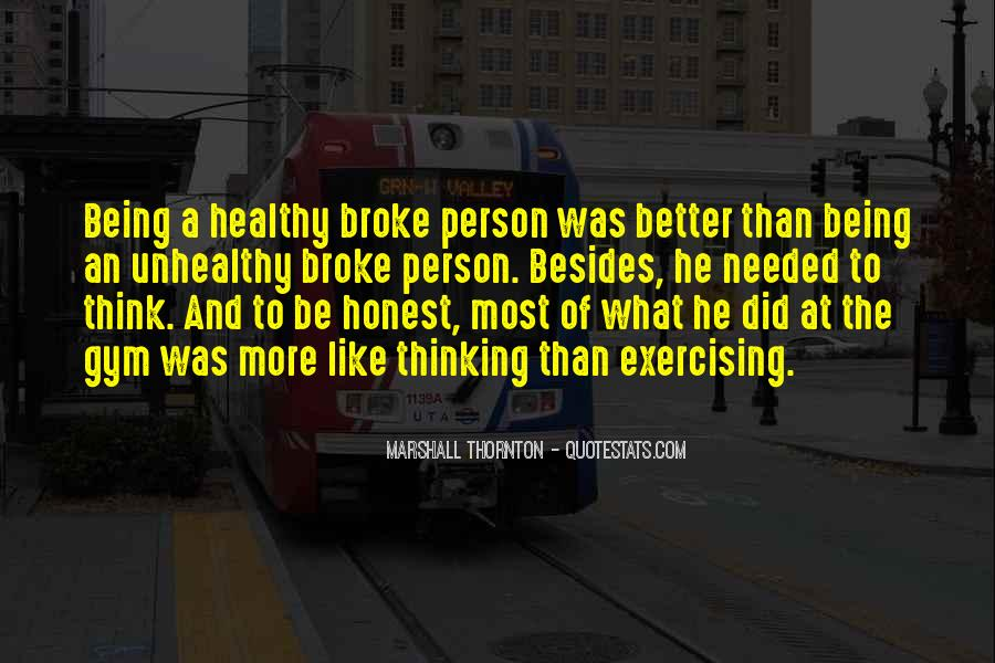 Quotes About Being Healthy #200005