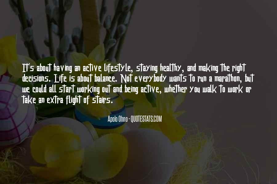 Quotes About Being Healthy #202036