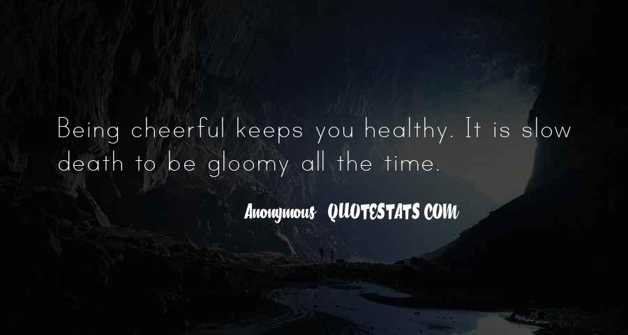 Quotes About Being Healthy #223278