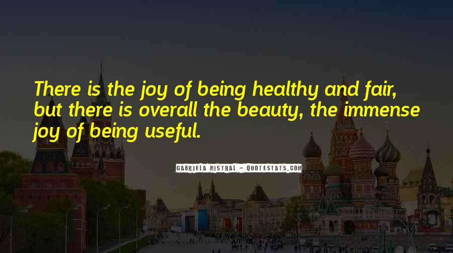 Quotes About Being Healthy #417719