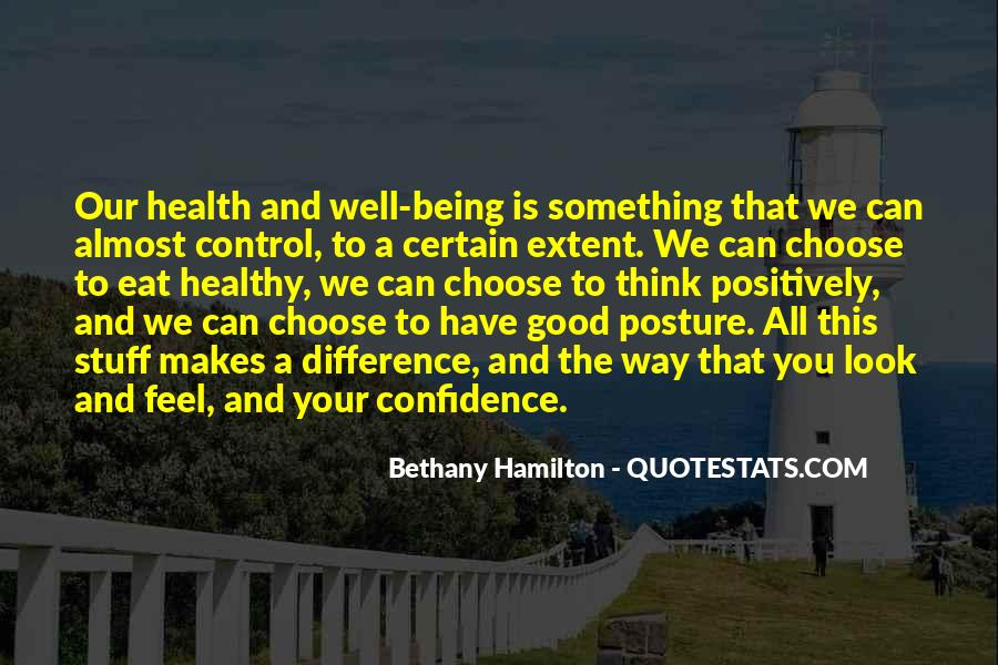 Quotes About Being Healthy #454289