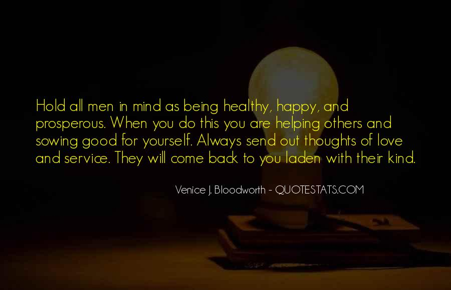 Quotes About Being Healthy #471153