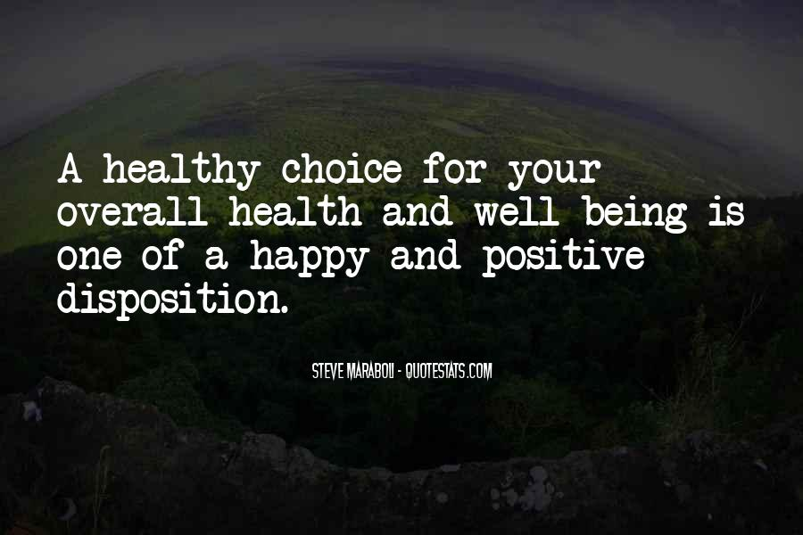 Quotes About Being Healthy #552108