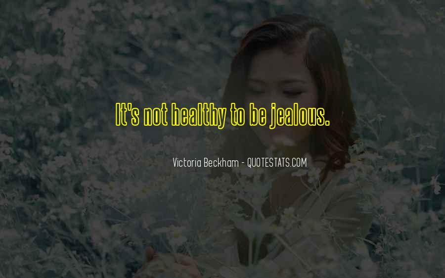 Quotes About Being Healthy #554243