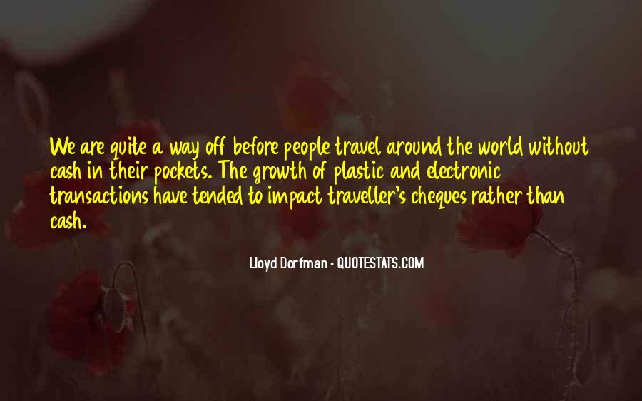 Quotes About Travel And Growth #1114012