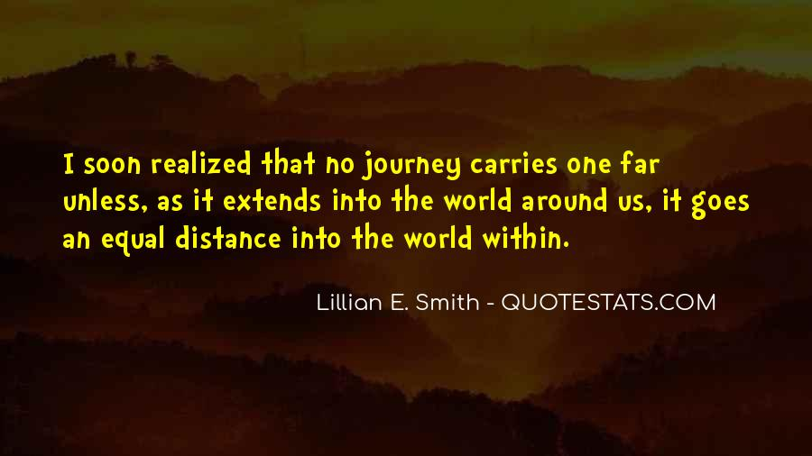 Quotes About Travel And Growth #1242872
