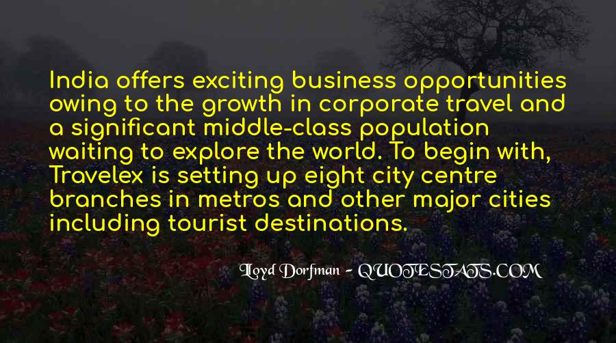 Quotes About Travel And Growth #843052