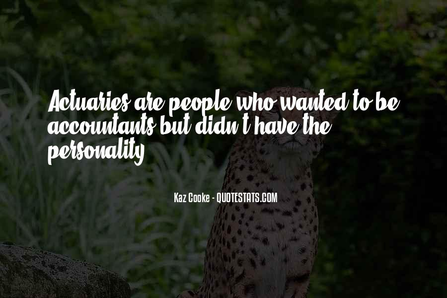Quotes About Accountants Personality #142213