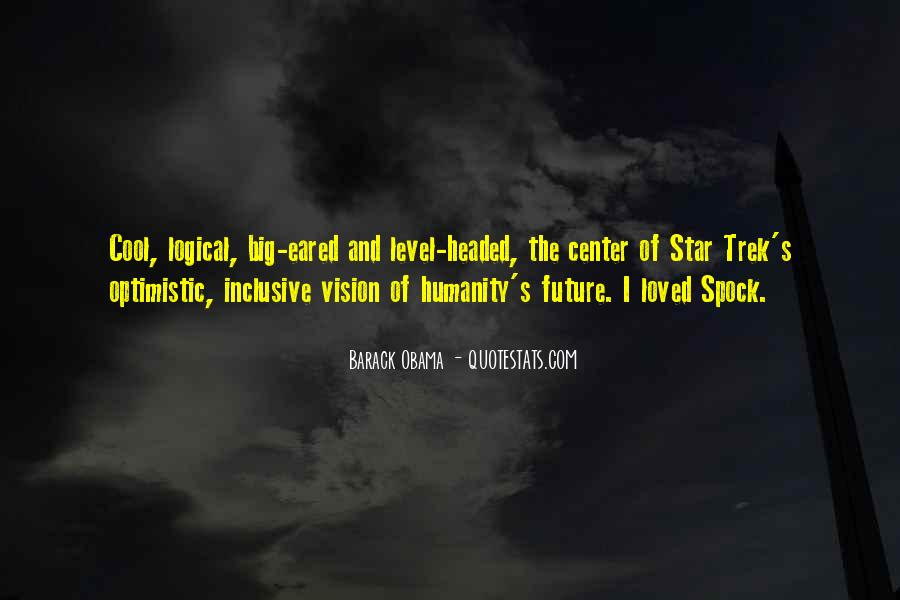 Quotes About Spock #1127810